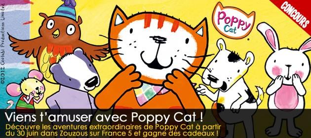 Joue avec Poppy et tous ses amis pour tenter de gagner plein de super cadeaux !