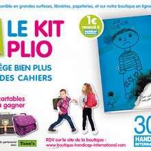 Pour la rentrée, adoptez le Kit Plio de Handicap International