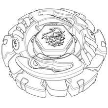 beyblade coloring pages ldrago - photo#7