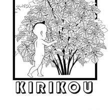 Coloriage Kirikou.Coloriages Kirikou A Imprimer Fr Hellokids Com