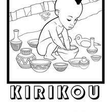 Coloriage Kirikou.Coloriages Dessin Kirikou Fr Hellokids Com