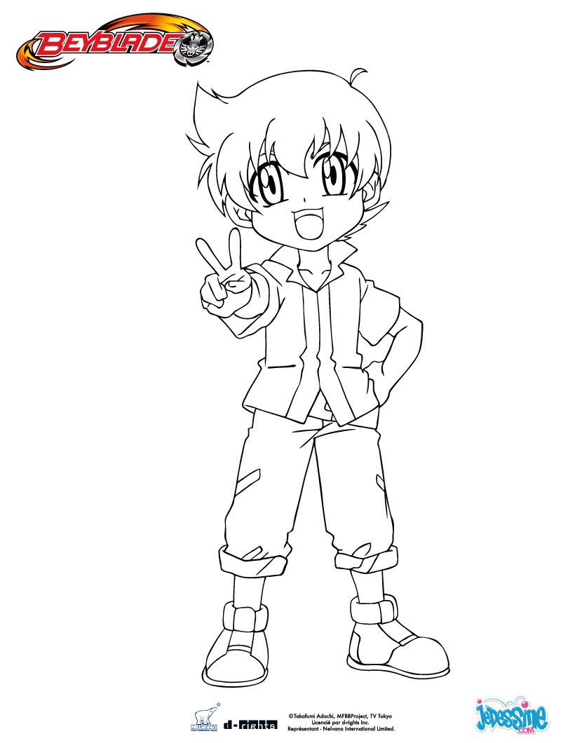 The gallery for beyblade ryuga love story for Beyblade shogun steel coloring pages