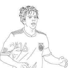 Coloriage du joueur de foot allemand PHILLIP LHAM - Coloriage - Coloriage HISTOIRE ET PAYS - Coloriage ALLEMAGNE - Coloriage PERSONNAGES CELEBRES ALLEMANDS