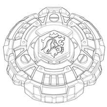 Coloriage FANG LEONE - Coloriage - Coloriage BEYBLADE