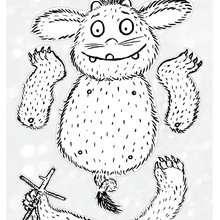 Activité : Pantin du Petit Gruffalo