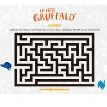 Labyrinthe LE PETIT GRUFFALO - Coloriage - Coloriage FILMS POUR ENFANTS - Coloriage et Jeux LE PETIT GRUFFALO