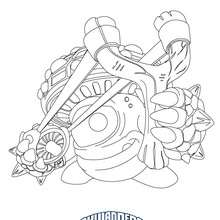 Coloriage SHROOMBOOM - Coloriage - Coloriage SKYLANDERS GIANTS