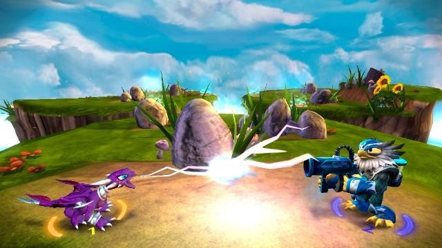 Captures du jeu SKYLANDERS GIANTS