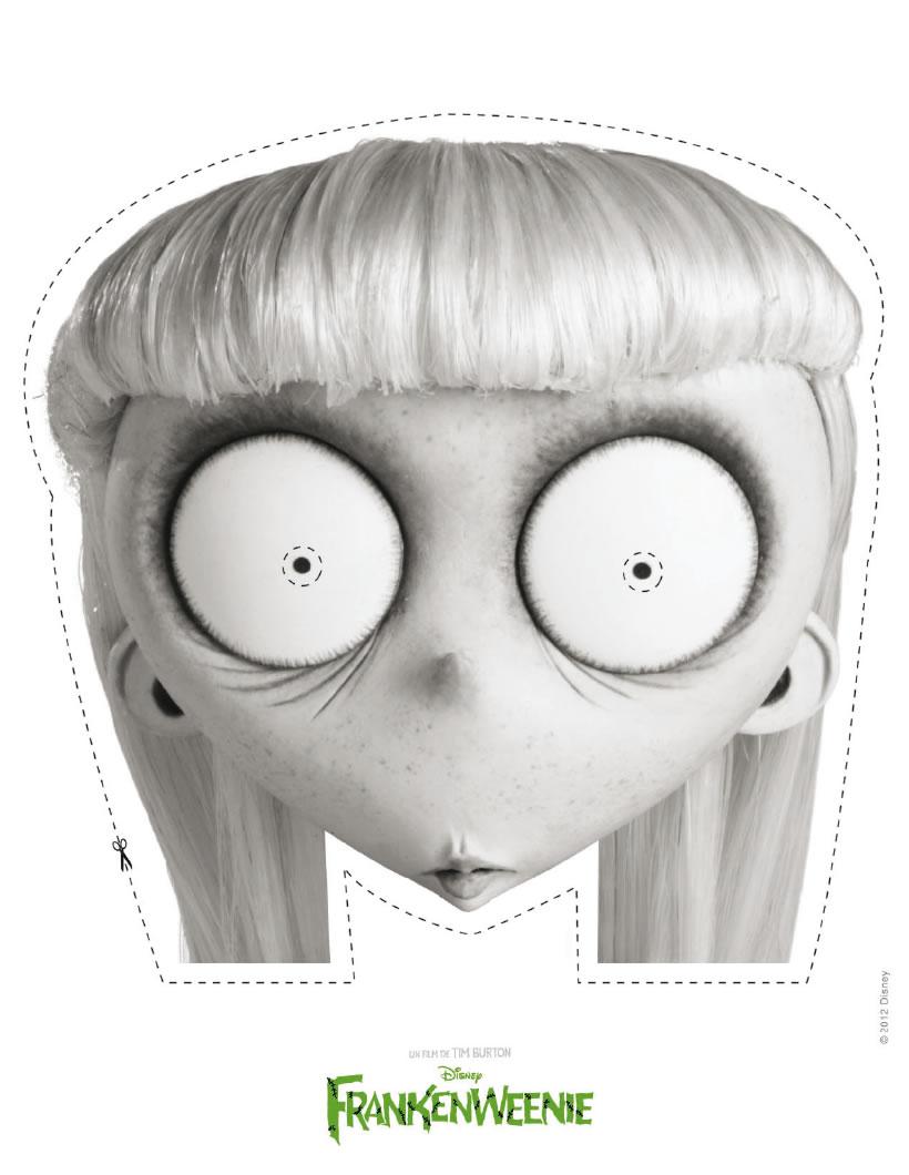 demi squelette demi fille dessin