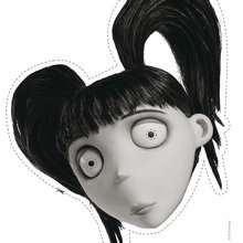 Masque à imprimer : ELSA VAN HELSING dans Frankenweenie