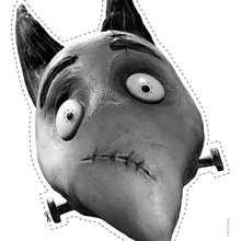 Masque à imprimer : Sparkie, le chien de Frankenweenie