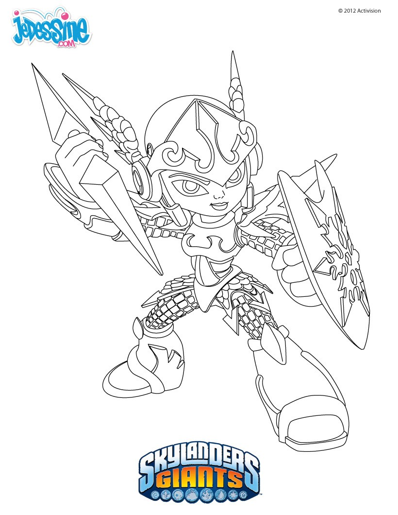 de coloriage skylanders giants. tu cherches des coloriage skylanders
