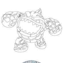 Coloriage skylanders giants coloriages coloriage - Coloriage skylanders giants ...