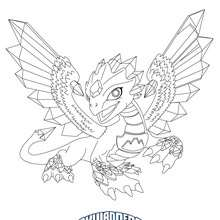 Coloriage FLASHWING - Coloriage - Coloriage SKYLANDERS GIANTS