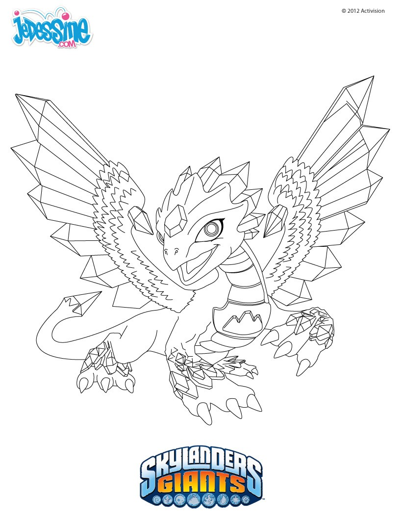 Coloriages coloriage flashwing - Coloriages skylanders ...
