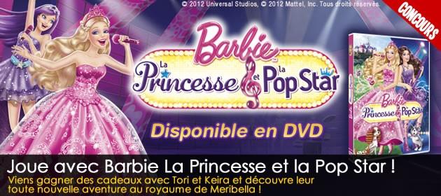 Jeux concours jedessine - Jeux de barbie popstar ...