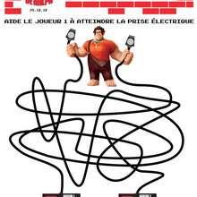 Labyrinthe Les Mondes de Ralph - Coloriage - Coloriage FILMS POUR ENFANTS - Coloriage LES MONDES DE RALPH