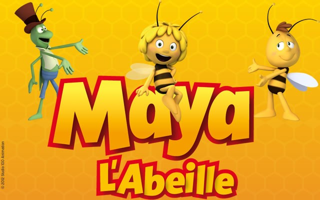 Coloriage maya l 39 abeille coloriages coloriage - Coloriage maya l abeille ...
