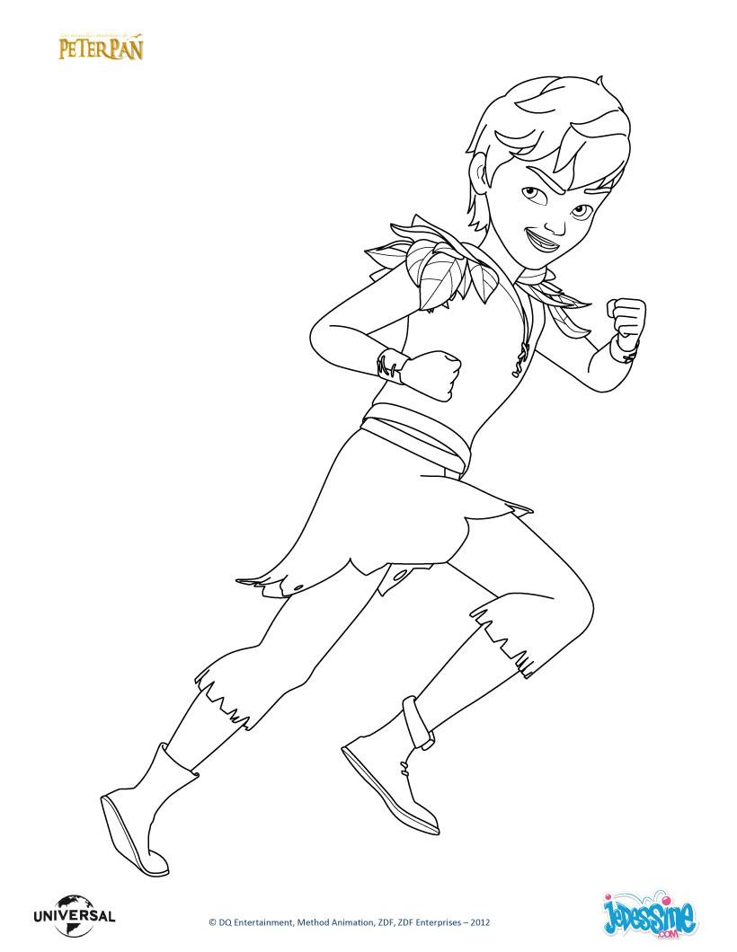 Coloriages peter pan colorier - Peter pan dessin anime gratuit ...