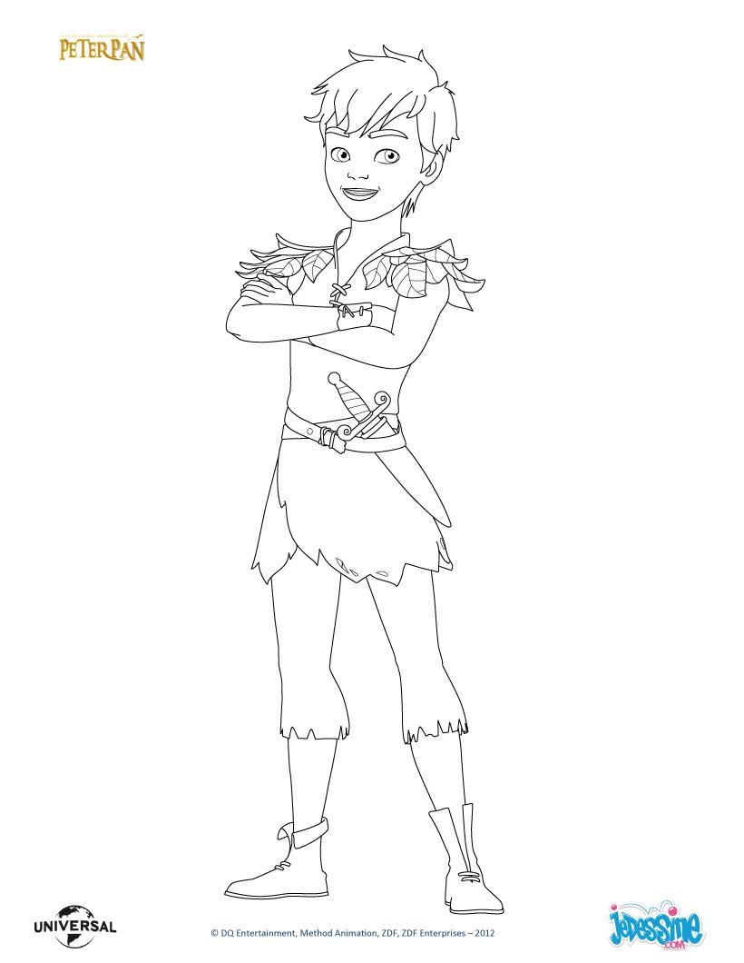 Coloriages peter pan imprimer - Peter pan dessin anime gratuit ...