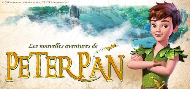 Coloriage Les Nouvelles Aventures de PETER PAN