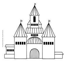 Coloriage : Château à colorier