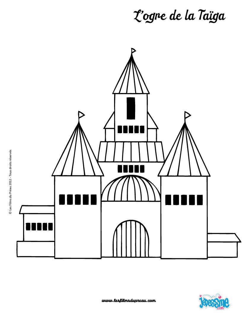 comment dessiner un chateau