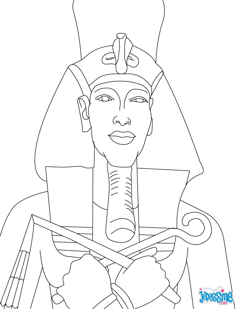 Coloring Pages Or Egytian Queen Adn Babies