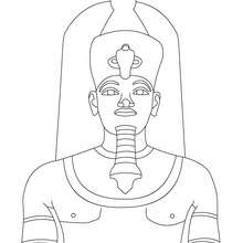 Coloriage : Amenhothep III