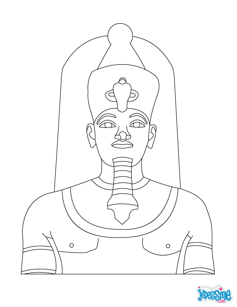 Coloriage : Amenhothep III