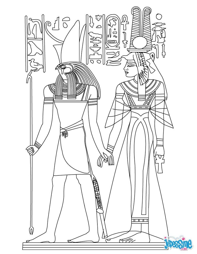 Coloriage Egypte Antique.Coloriages Egypte Coloriages Coloriage A Imprimer Gratuit Fr