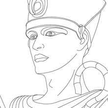 Coloriage : Ramsès II