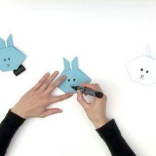 Origami : Faire un pliage de lapin