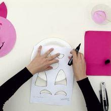 Masque de cochon rose