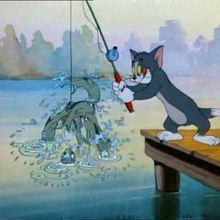 La pêche - Vidéos - Vidéos de DESSINS ANIMES - Vidéo TOM & JERRY