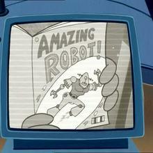 Dessin animé : Roboto