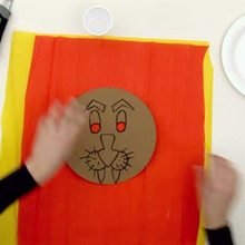 Masque de Lion - Activits - ATELIER BRICOLAGE EN VIDEO - VIDEO BRICOLAGE CARNAVAL