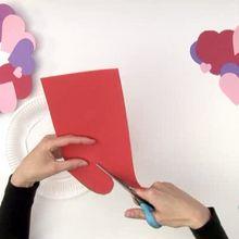 Activité : Fabriquer une couronne de coeurs pour la St Valentin