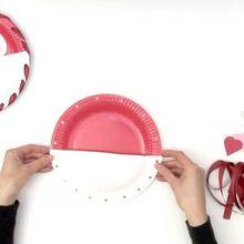 Bricolage saint valentin fabriquer une couronne de - Idee activite saint valentin ...
