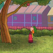Episode de Lucie : Cueillir des pommes, façon Lucie