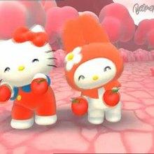 Dessin animé : Hello Kitty : Extrait  1