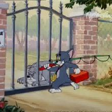 Dessin animé : Tom et Jerry à la pêche
