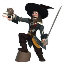 Figurine de Barbossa - Jeux - Sorties Jeux video - DISNEY INFINITY