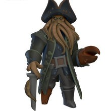 Figurine de Davy Jones - Jeux - Sorties Jeux video - DISNEY INFINITY