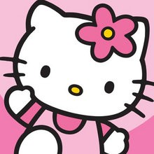 Coloriage HELLO KITTY - Coloriage