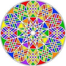 Coloriage MANDALA - Coloriage