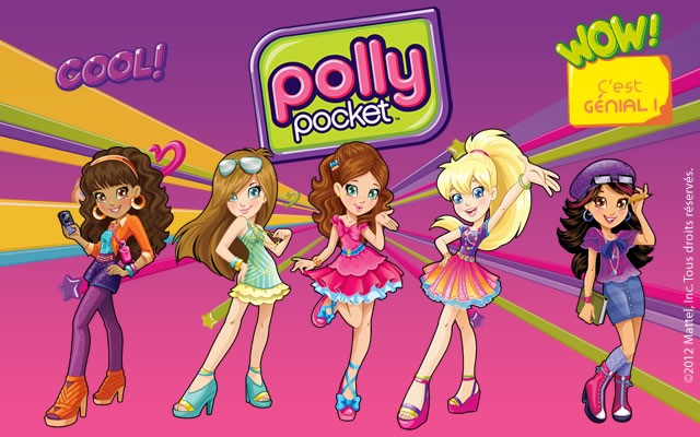 Coloriage polly pocket coloriages coloriage imprimer - Jeux polly pocket gratuit ...
