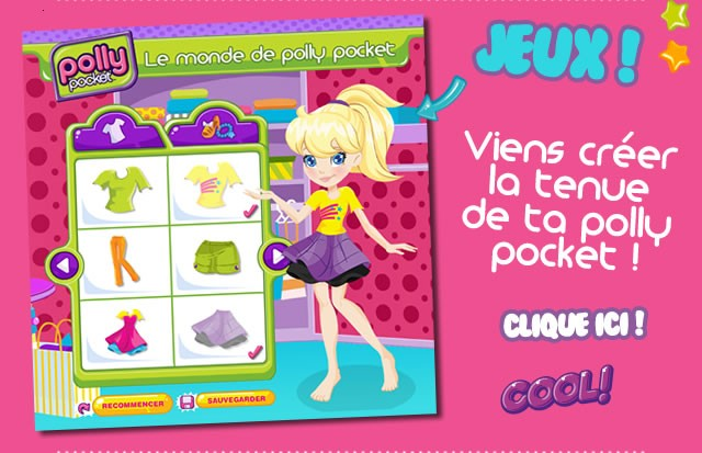 Viens t 39 amuser avec polly pocket - Jeux polly pocket gratuit ...