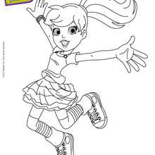 Coloriage gratuit POLLY POCKET - Coloriage - Coloriage POLLY POCKET