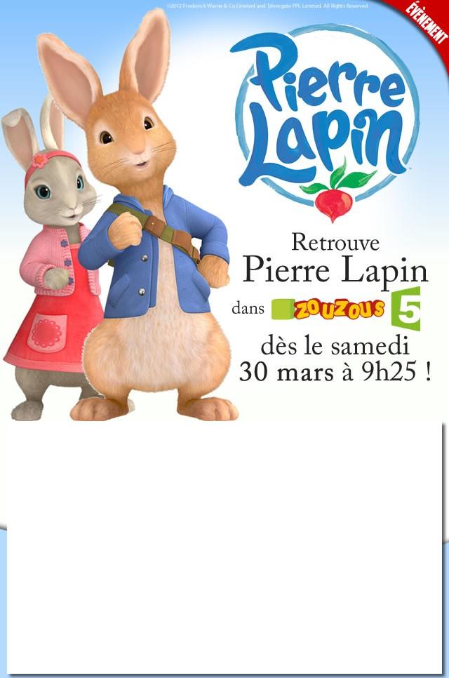 Viens t'amuser avec PIERRE LAPIN